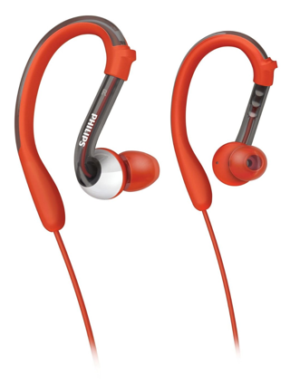 Philips SHQ3000/10 Washable Sports Headphones with Anti-Bacterial Agent