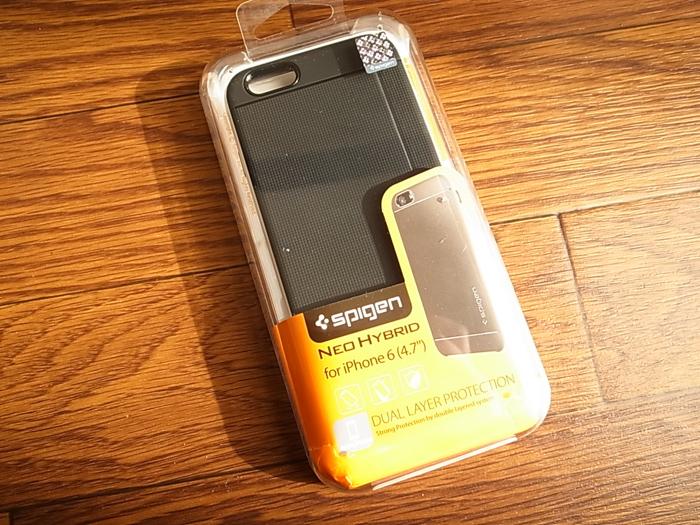 iPhone6用のケースでもっともシンプルでかっこいいと思った「spigen Neo Hybrid」