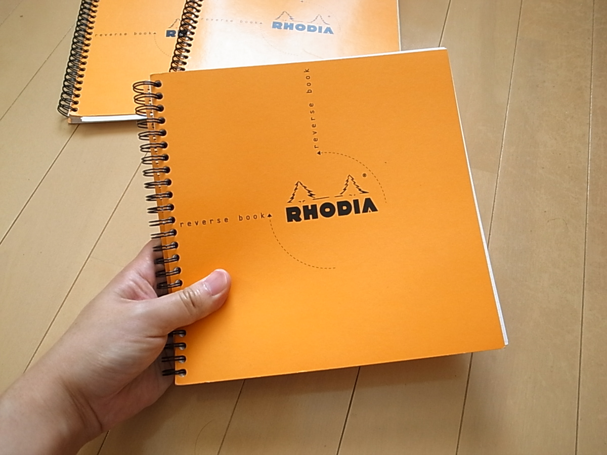 Rhodia reverse book 2