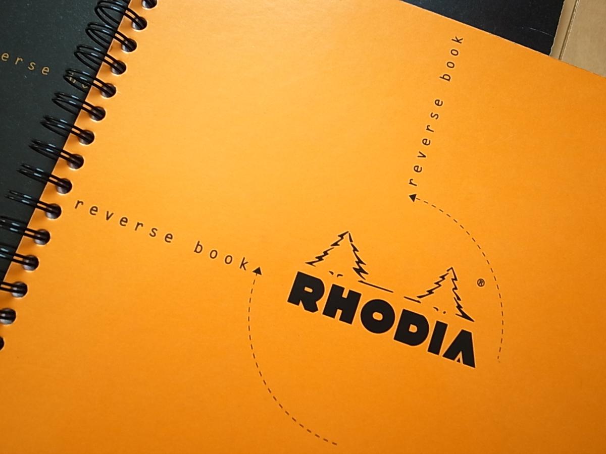 アイディア出しやミーティング時に最適!「RHODIA reverse book」