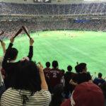 初めて野球観戦に行ってきました!マイペースに楽しめていいね♪@東京ドーム