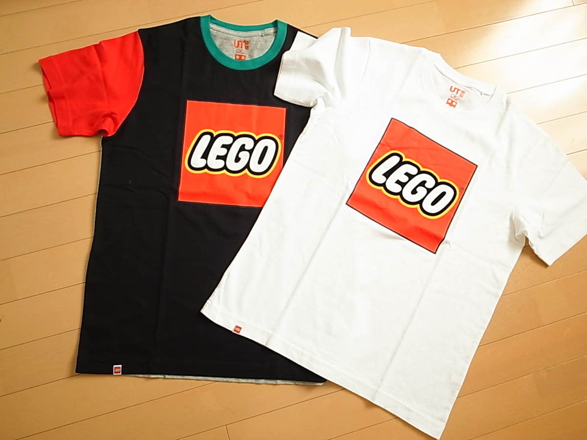 【UNIQLO】LEGOのロゴが良い!LEGO UTを衝動買い!