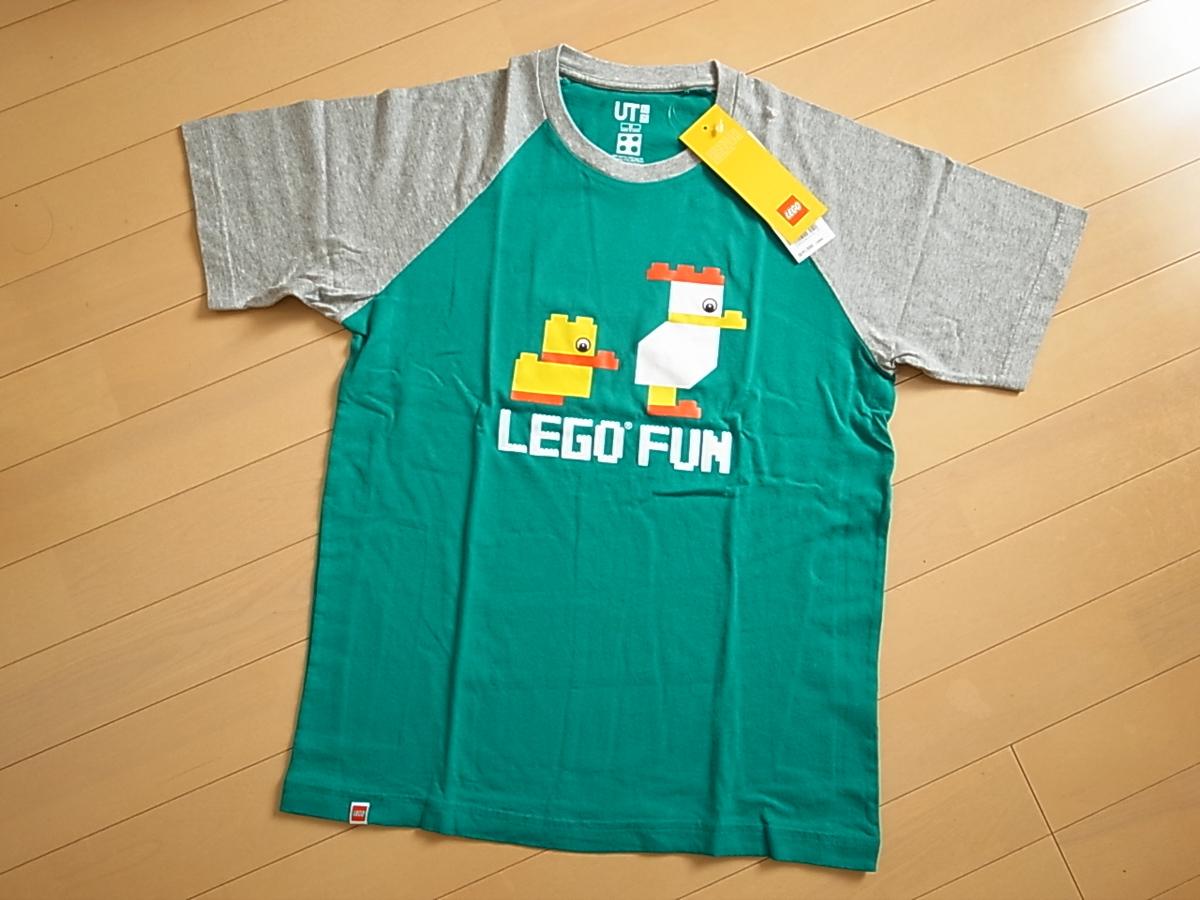 【UNIQLO】たまらずLEGOのTシャツを買い足し!