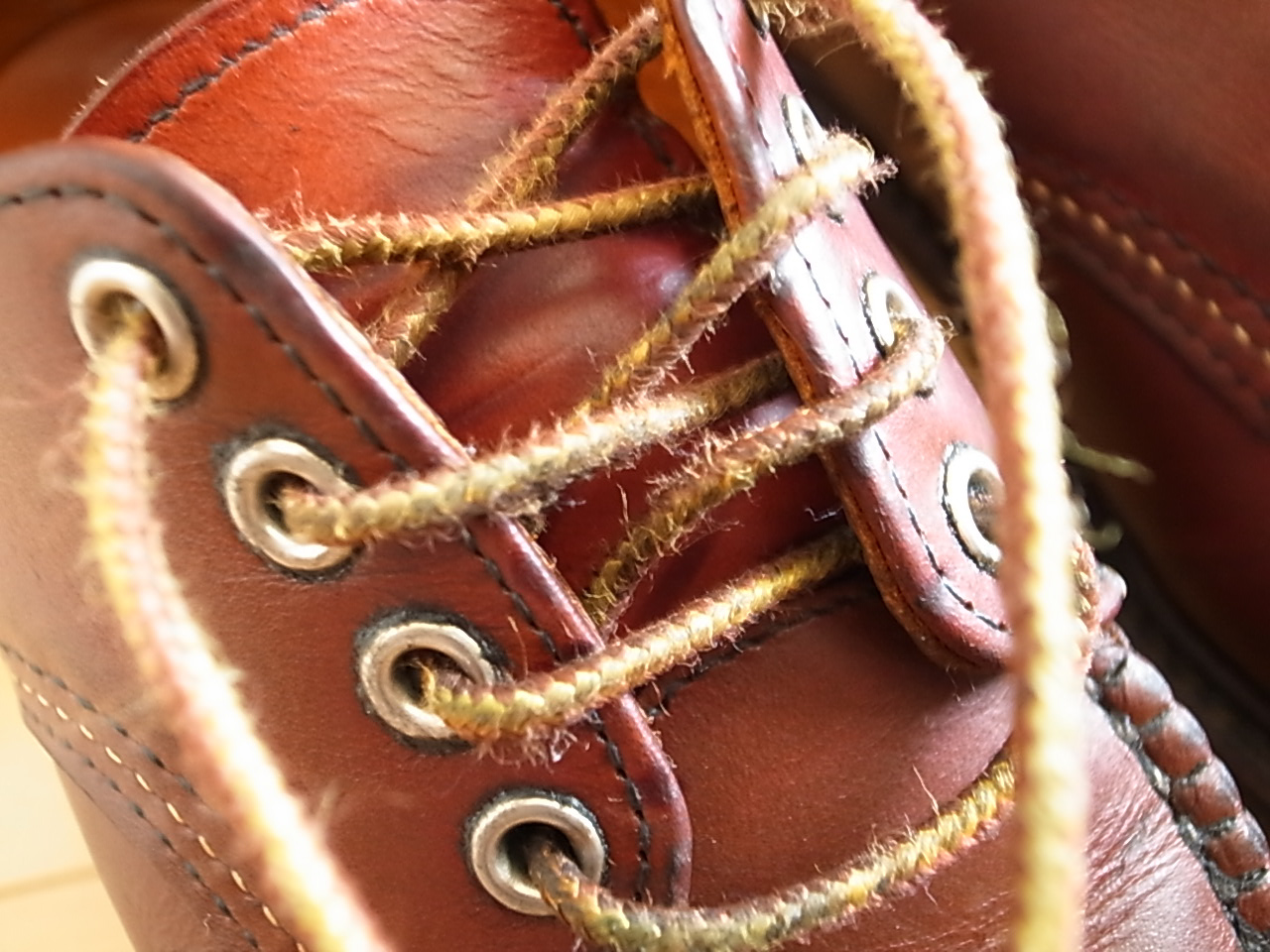 Redwing boot laces 2