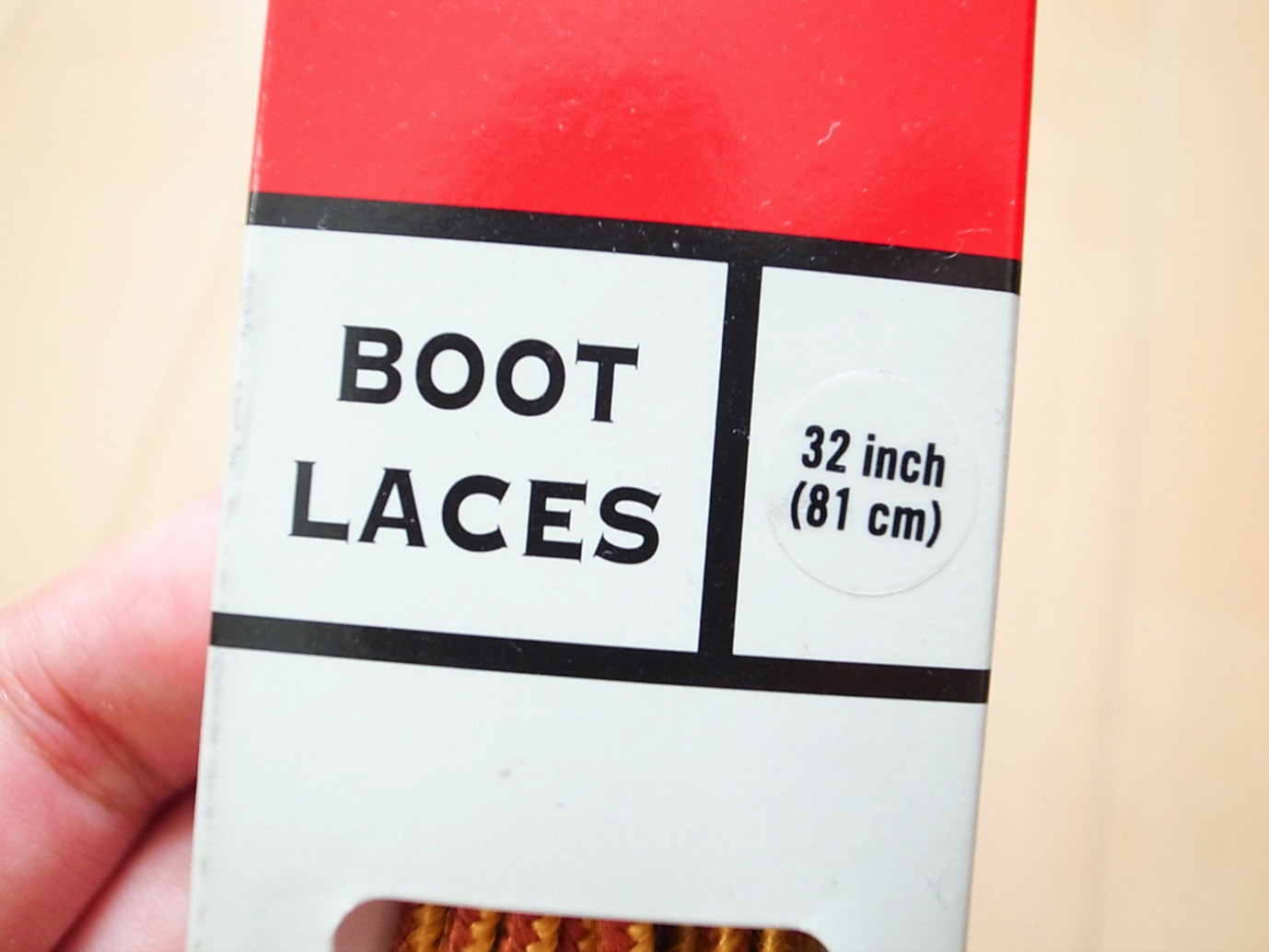 Redwing boot laces 3