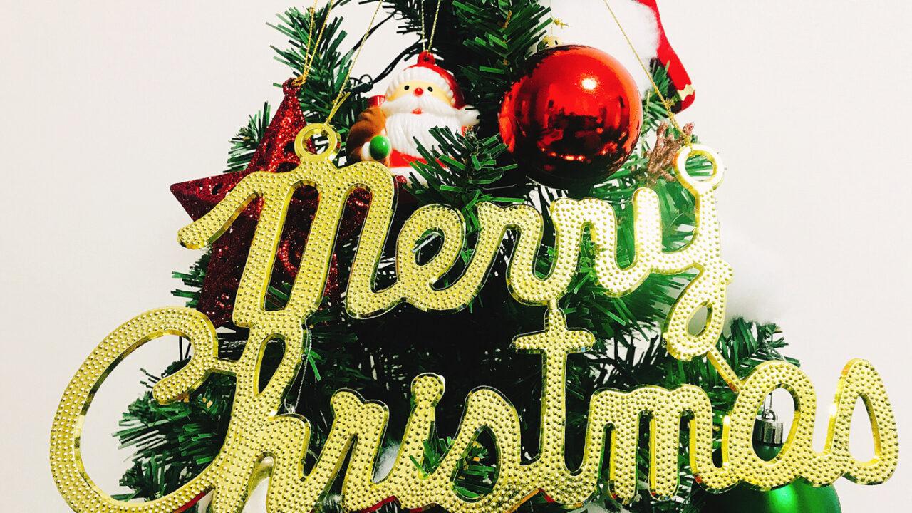 実践!こんなに簡単!?クリスマスツリーの飾り付け♪