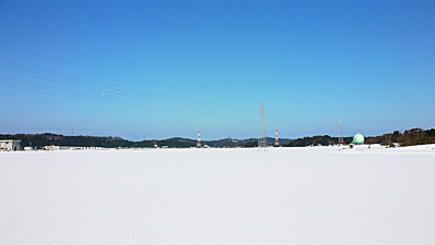 雪の地平線